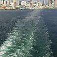Departing Seattle Harbor -- Seattle, Washington