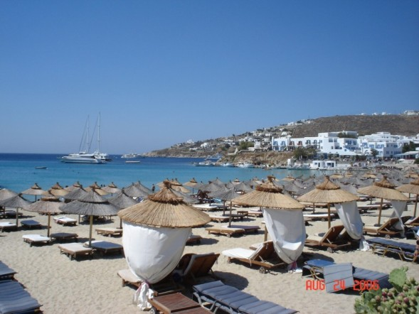 Platys Gialos Beach 1 in Mykonos