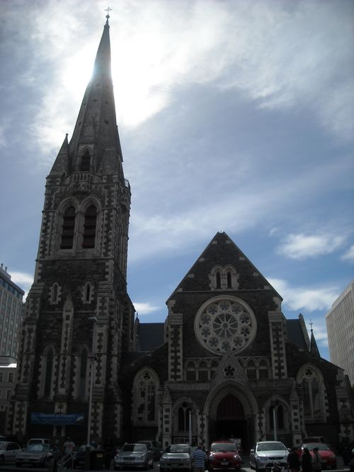 Christchurch Cathedral 3 weeks before quake