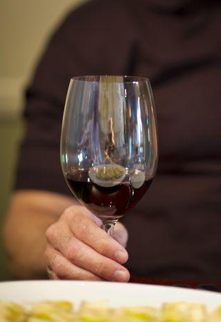 TUP final wine glass