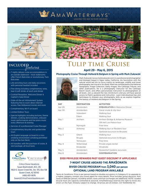 Tulip Time_Critics Choice Vacations_29JAN14_Susan
