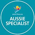 Aussie asp-badge