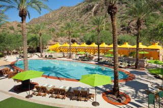 Canyon Suites Pool_Above