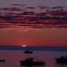 Beautiful sunrise off Lake Superior