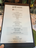 Grill Room Menu Fairmont Chateau Whistler