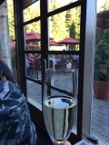 Champagne welcome at Chateau Whistler