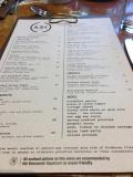 Fairmont Waterfront Arc menu