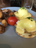Fairmont Pacific Rim eggs benny