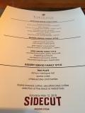 Four seasons whistler sidecut menu