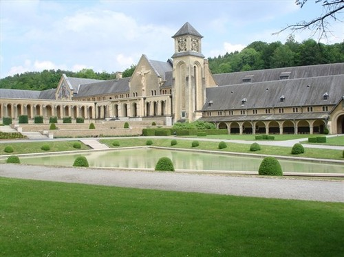 Orval_abbey_in_gaume
