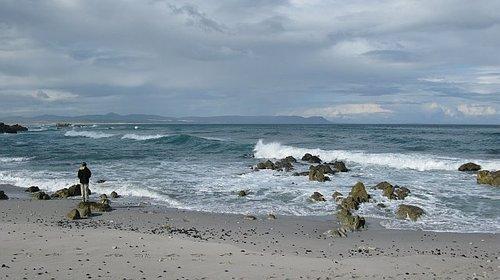 Beach near Oceans 11 Hotel -- Hermanus, S. Africa