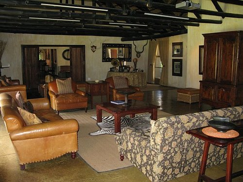 Lodge at the Sabi Sabi Reserve -- Within Kruger National Parks, South Africa