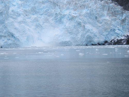 Aialik Glacier Kenai pennisula  -- Alaska
