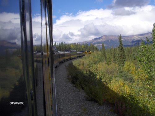 Alaskan RR  -- Between Anchorage & Denali Park