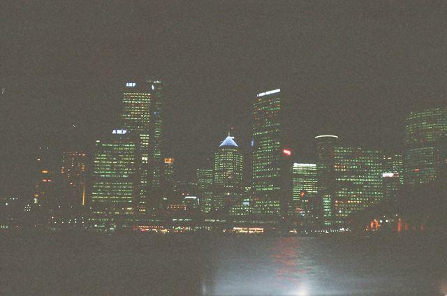 Sydney harbor skyline -- Sydeny, Australia