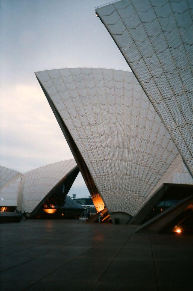 Sydney opera house --  Sydney, Australia
