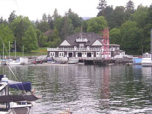 Dock within Stanley Park -- Vancouver, Canada