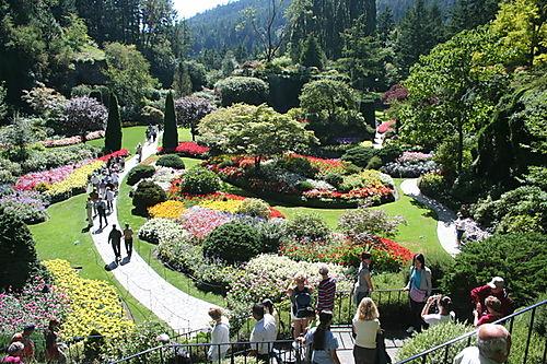 Burchart Gardens -- Victoria, British Columbia