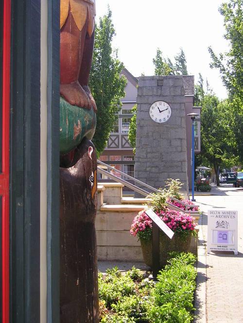 Clock in Delta  -- Vancouver, Canada