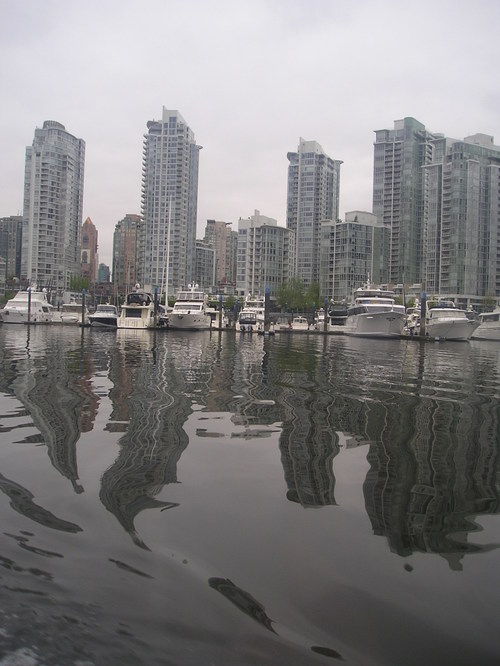 City view from Granville -- Vancouver, Canada