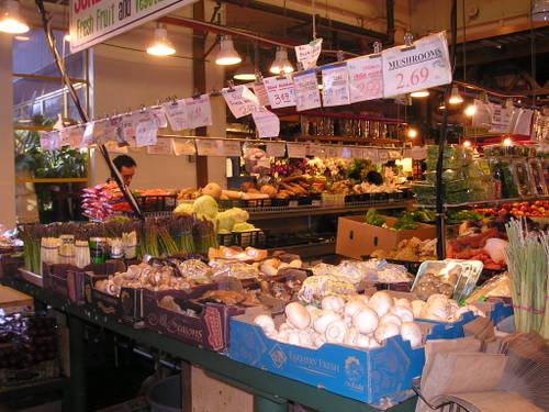 Grandville Island market -- Vancouver, Canada