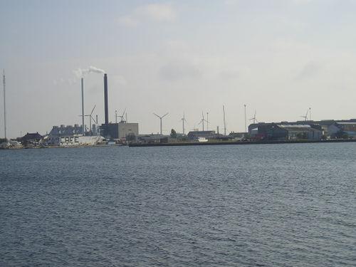 World famous windmills -- Copenhagen, Denmark
