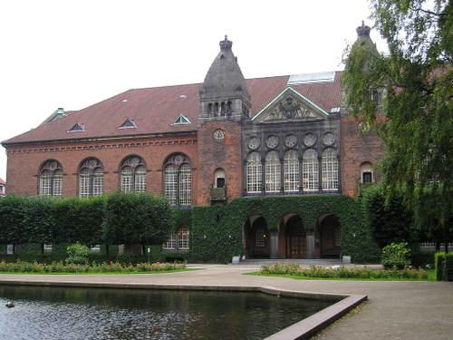 Danish Parlimant buildings -- Copenhagen, Denmark