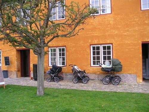 Hamlets Castle Island -- Copenhagen, Denmark