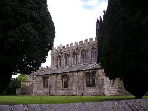 All Saint's Church -- Sutton-on-Trent, England