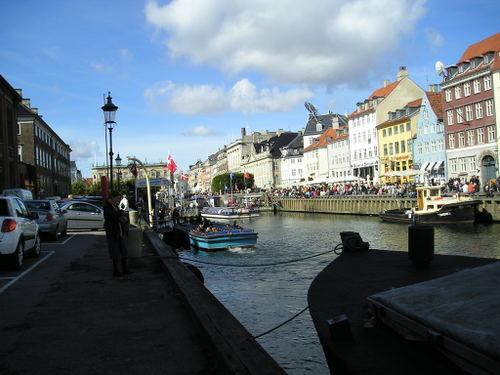 Canal Views Nyhaven Road -- Copenhagen, Denmark