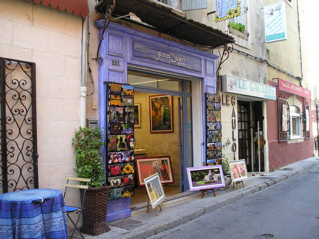 Art Gallery --St. Remy, France