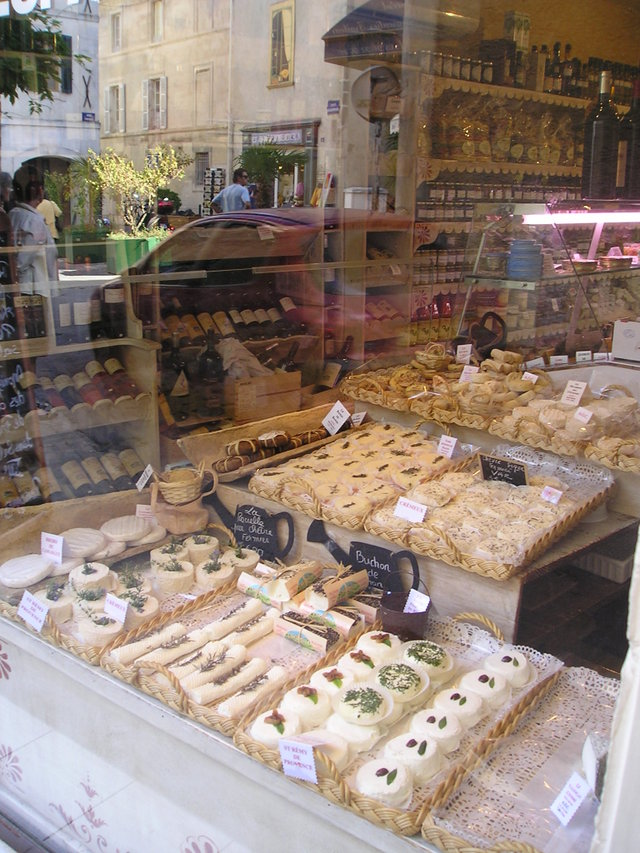 Cheese shop -- St. Remy, France