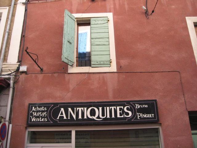 Antique Shop --Orange, France
