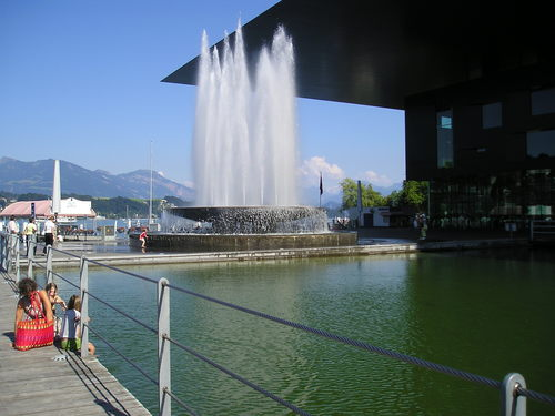 Fountain -- Lucerne, Switzerland