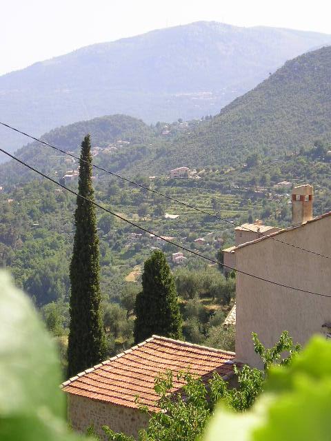 French village -- Bonson, France