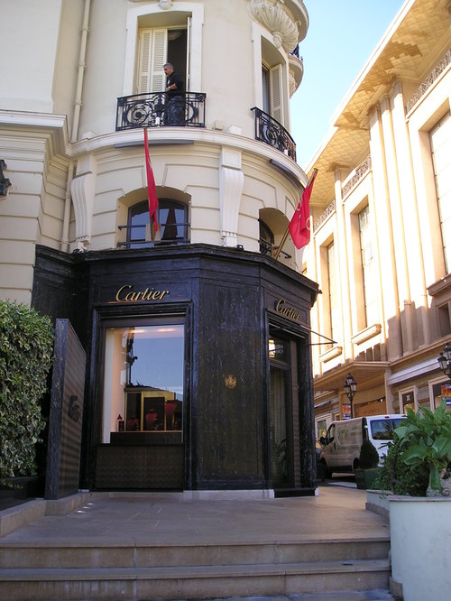 Cartier Shop -- Monte Carlo, Monaco