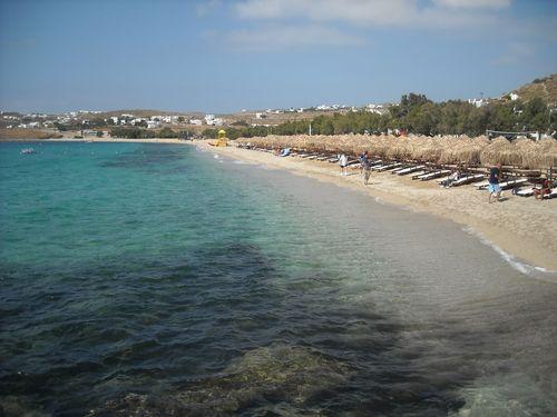 Beach -- Mykonos, Greece