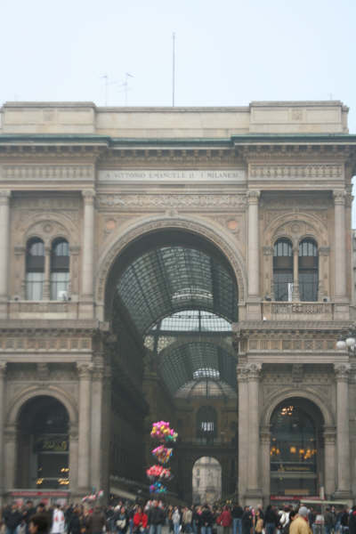 Galleria --Milano, Italy