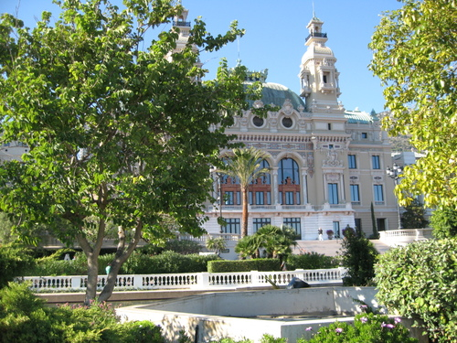 Backview of the Casino -- Monte Carlo, Monaco
