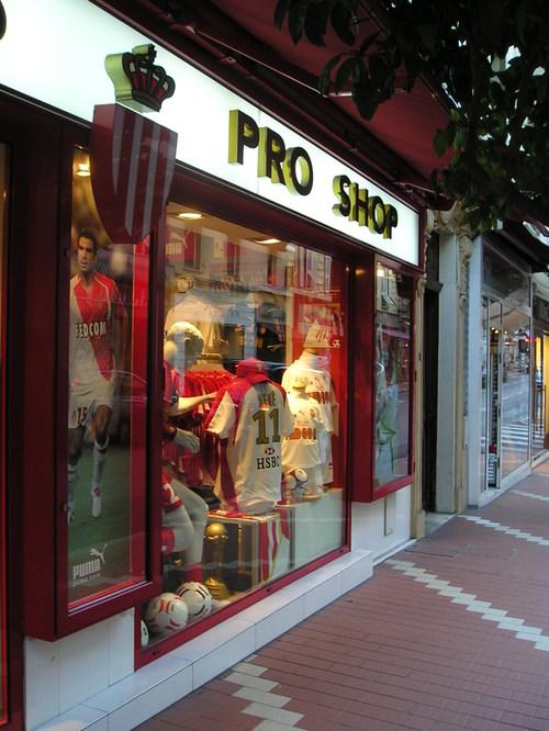 Monaco's Pro Shop -- Monte Carlo, Monaco
