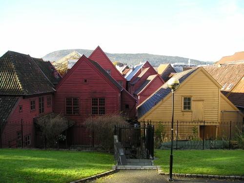Hanseatic Bryggen -- Bergen, Norway