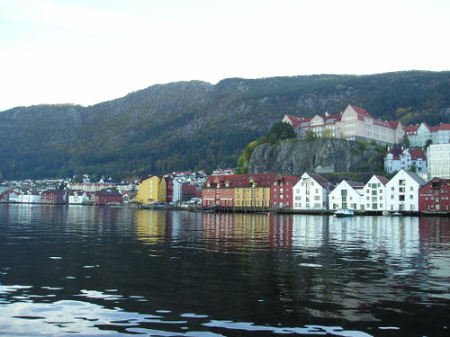 Bergen waterway -- Bergen Norway