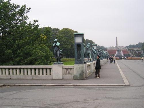 Frogner Park -Vigeland sculptures -- Oslo, Norway