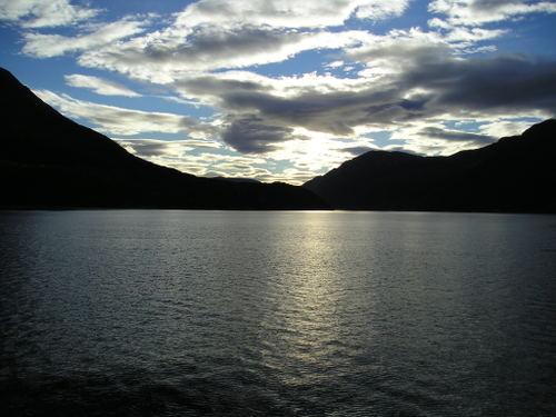 Hardanger Fjord -- Near Bergen, Norway