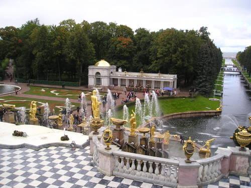 Catherine's Palace (Pushkin Park) -- St. Petersburg, Russia