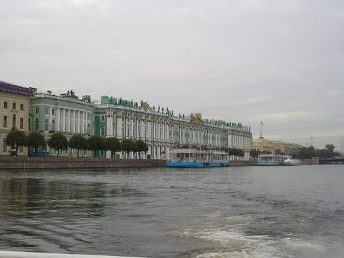 Neva River cruise -- St. Petersburg, Russia