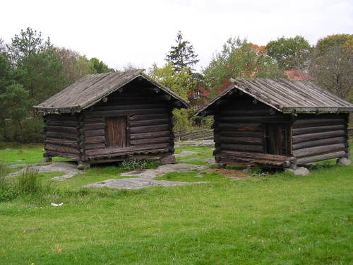 Skansen Open Air Museum --Stockholm, Sweden