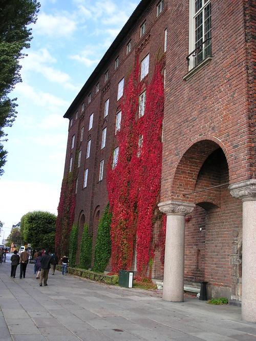 Stockholm City Hall  -- Stockholm, Sweden