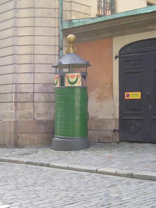 Stockholm old town toilet -- Stockholm, Sweden