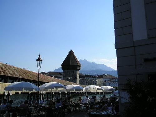Kapellbrucke -- Lucerne, Switzerland